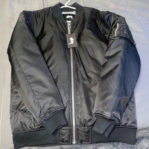 Stussy M4A1 bomber jacket
